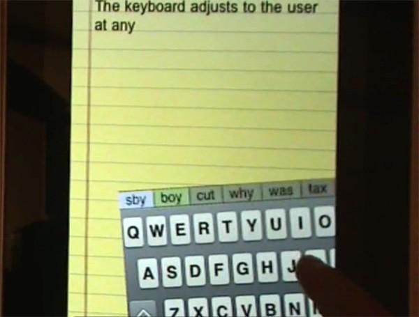 blindtype un clavier virtuel auto correcteur assez bluffant frandroid. Black Bedroom Furniture Sets. Home Design Ideas