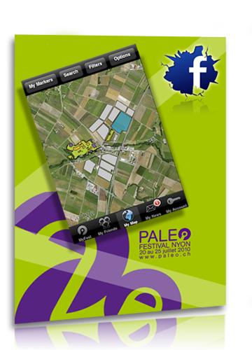 Paléo Festival Application