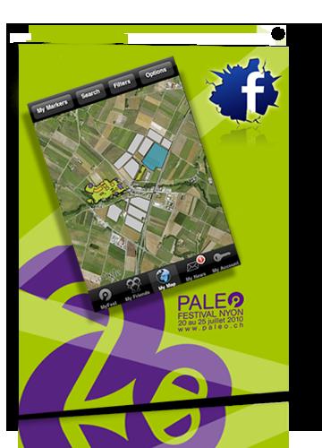 Paléo Festival Application