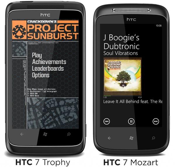 WP7 - HTC sous WP7, les modèles en Octobre 10x1011ub234ewfdfrtevo