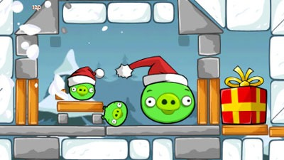 Bient t une version sp ciale no l d 39 angry birds frandroid - Angry birds noel ...