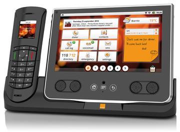 une tablette android pour la t l phonie fixe frandroid. Black Bedroom Furniture Sets. Home Design Ideas