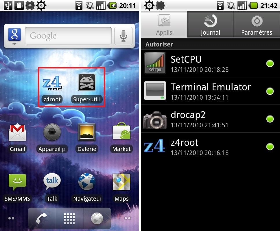 Скачать Программу Z4Root На Андроид