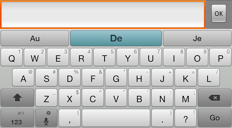 how to change qwerty keyboard to normal keyboard in android