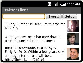 Twitter à ses débuts