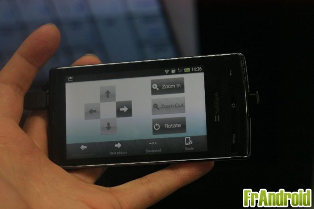 Softbank 003SH par Sharp Smartphone 3d Android