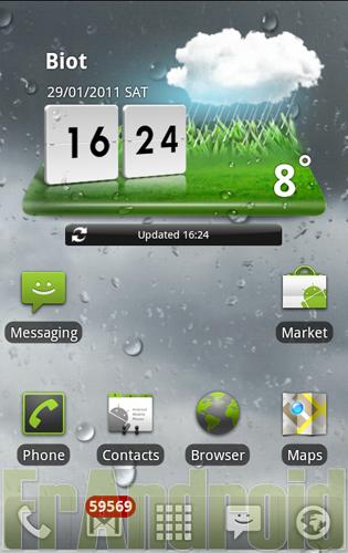 01 tablette le widget m t o du lg optimus 2x en - Telecharger gadget meteo bureau gratuit ...