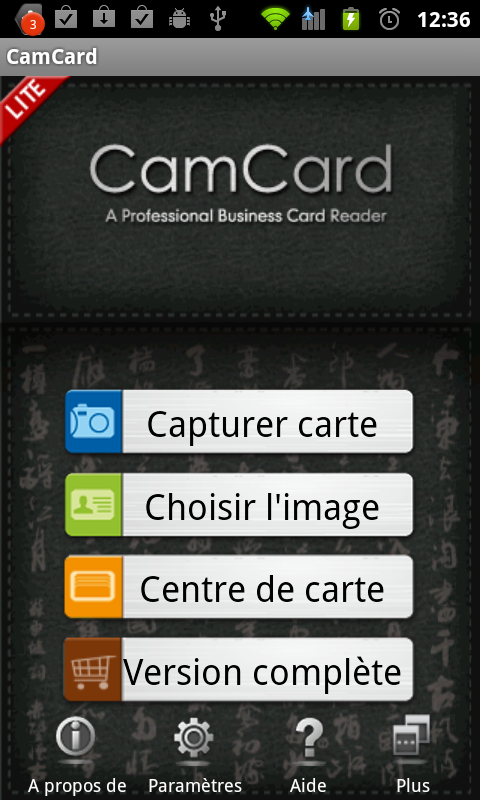 01 Tablette Gerer Vos Cartes De Visites Avec Android