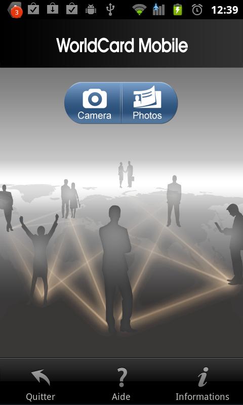 Cartes De Visite Micro Application Hors Ligne