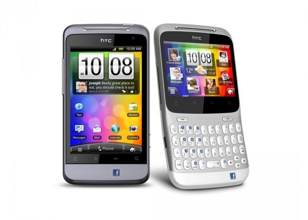 HTC ChaCha et HTC Salsa