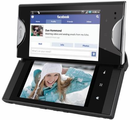 Sprint Kyocera Echo, Android à deux écrans