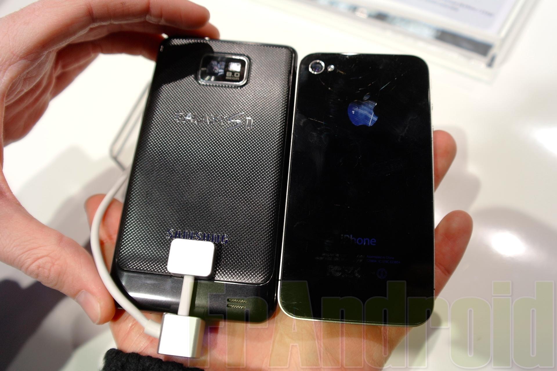 Samsung Galaxy S2 vs iPhone 4
