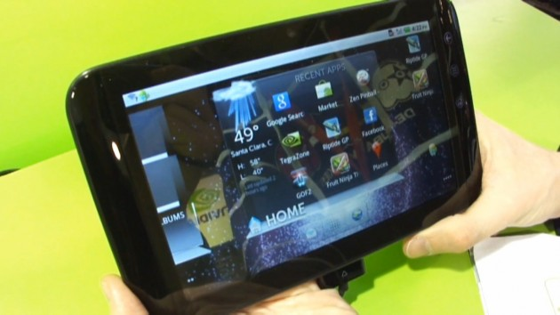 Presentation De La Tablette Dell Streak 7 Sous Android