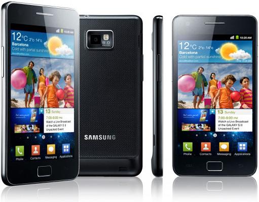 Petite comparaison du Samsung Galaxy S II & de l'iPhone 4