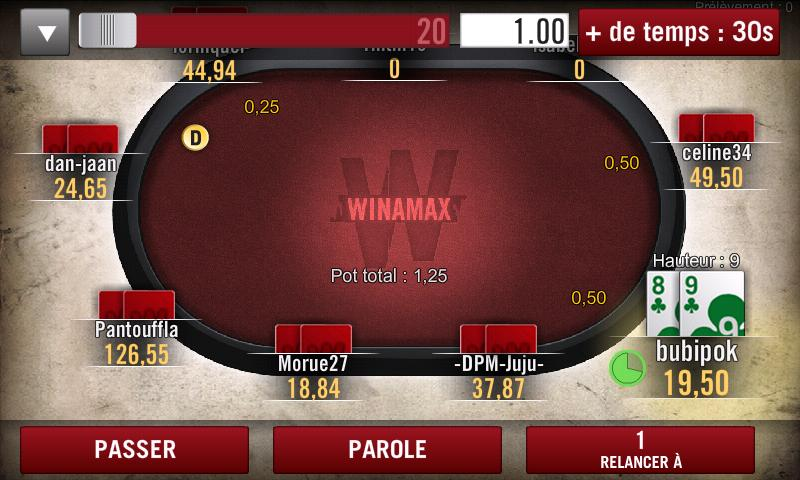 Astuce poker winamax best real money gambling apps for iphone