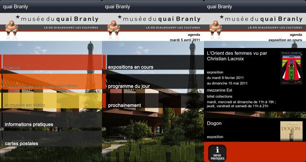 une application android pour le mus e du quai branly. Black Bedroom Furniture Sets. Home Design Ideas