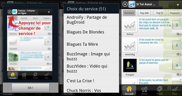 réseau social français