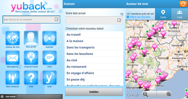 Rencontre geolocalise android