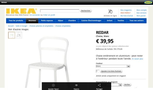 consultez le catalogue ikea directement depuis votre terminal android frandroid. Black Bedroom Furniture Sets. Home Design Ideas