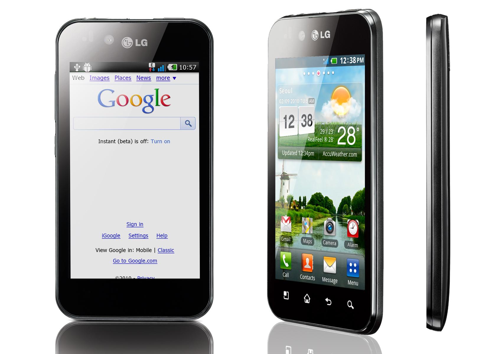 Test du LG Optimus Black (P970) sous Android