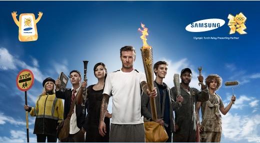 La grosse flamme de Samsung