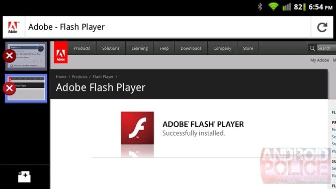 flash player for firefox mobile