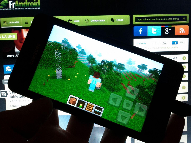 mise à jour du côté de Minecraft ? Pocket Edition sous Android