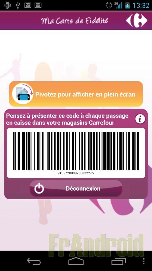 Test De Lapplication Carrefour Fidlit
