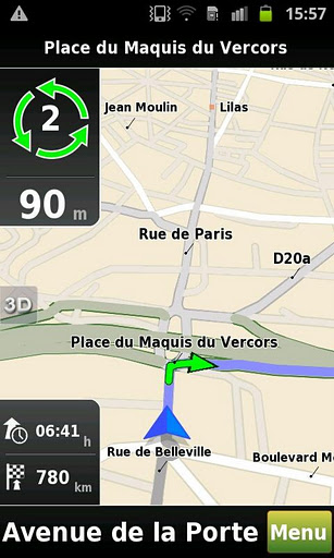 mappy gps free une application gps hors ligne gratuite frandroid. Black Bedroom Furniture Sets. Home Design Ideas