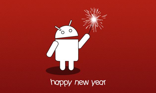 Bonne année Android