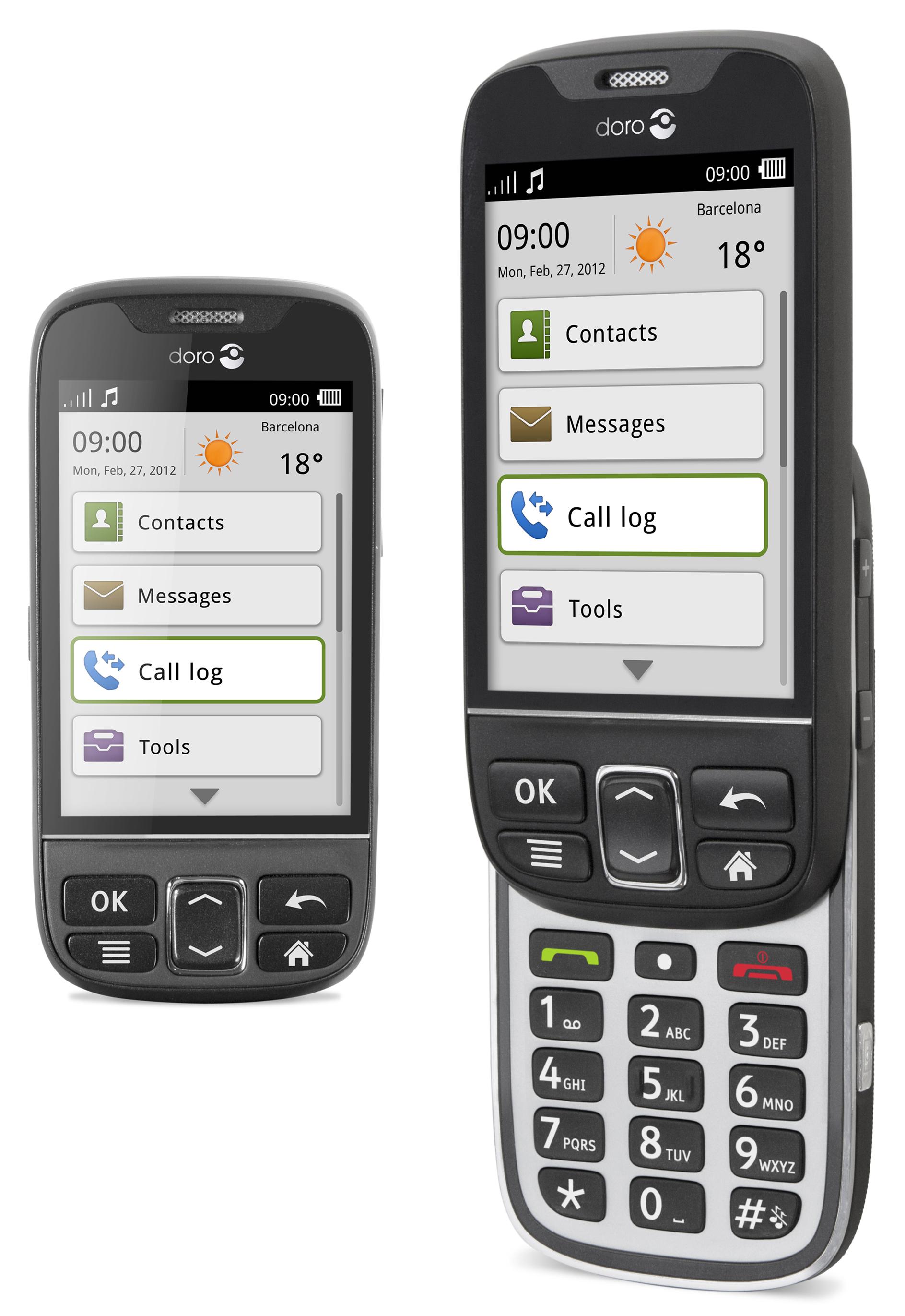 MWC 2012   Doro, la solution Android