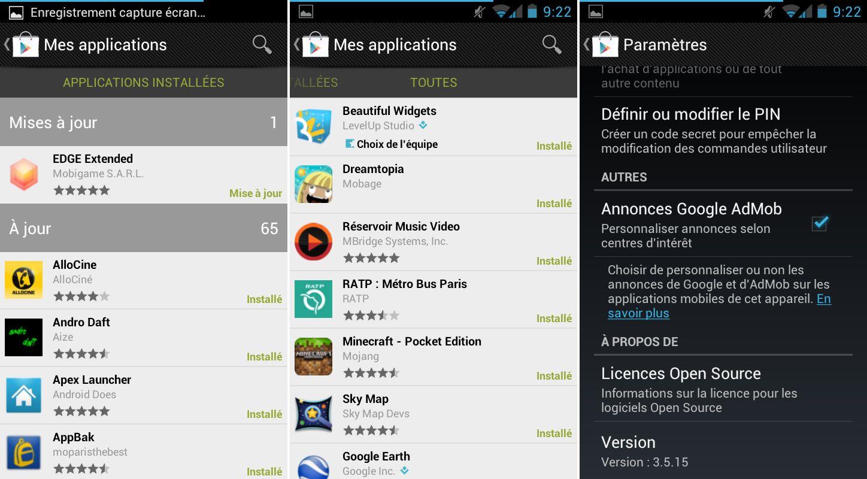 Google Play, une version modifiée sans les restrictions des pays ... ce327f6990e8
