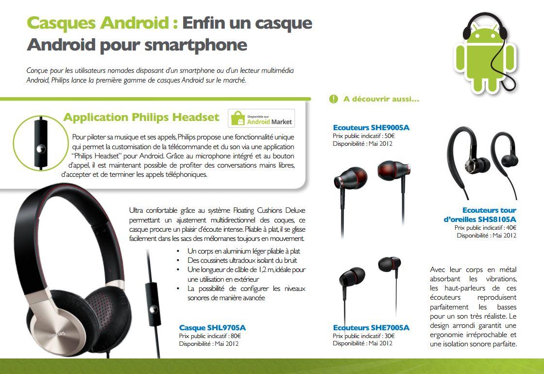 Philips d voile sa nouvelle gamme d 39 accessoires d di s - Casque pour ecouter la tv sans couper le son ...