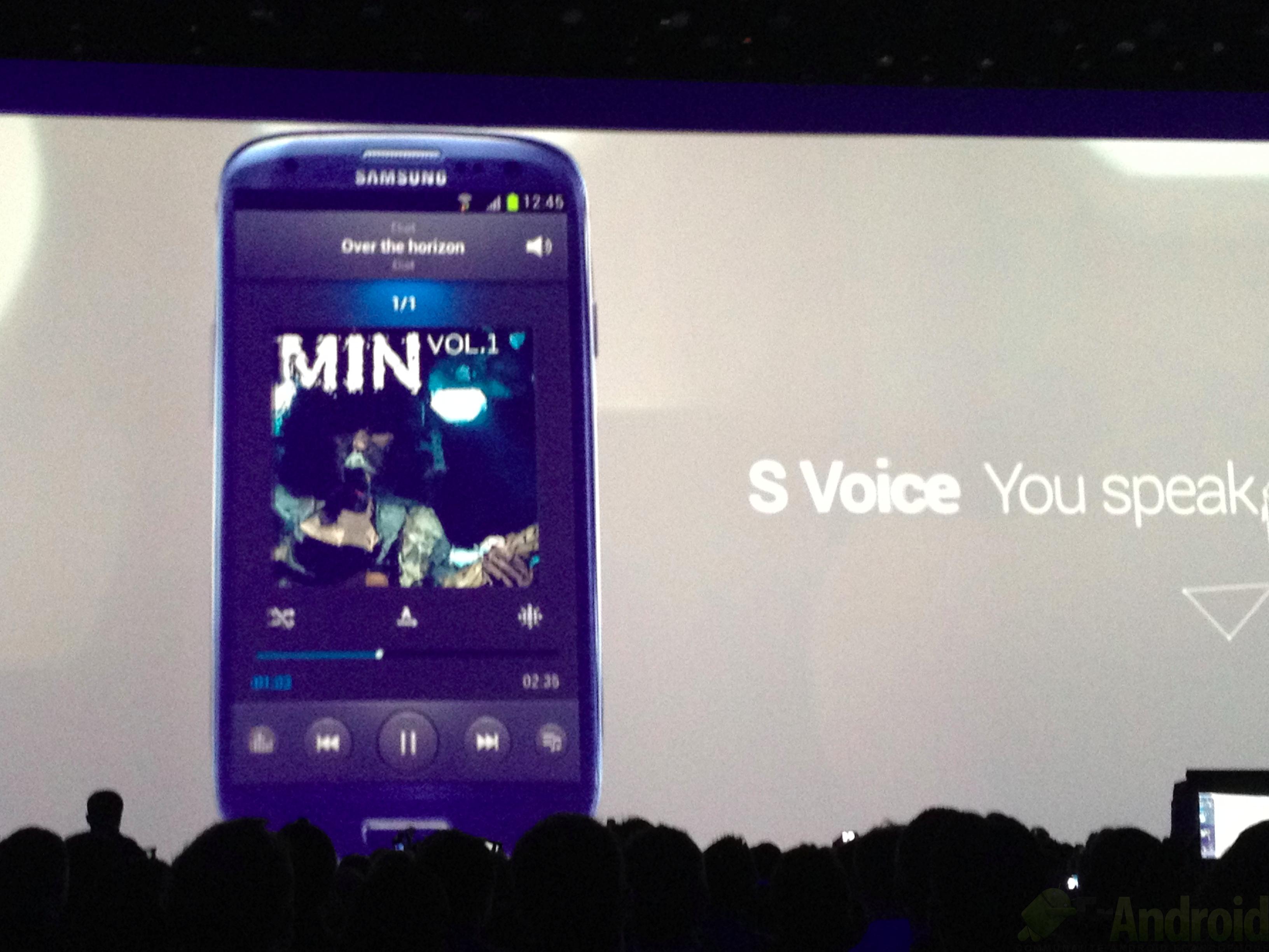 comment marche s voice galaxy s3