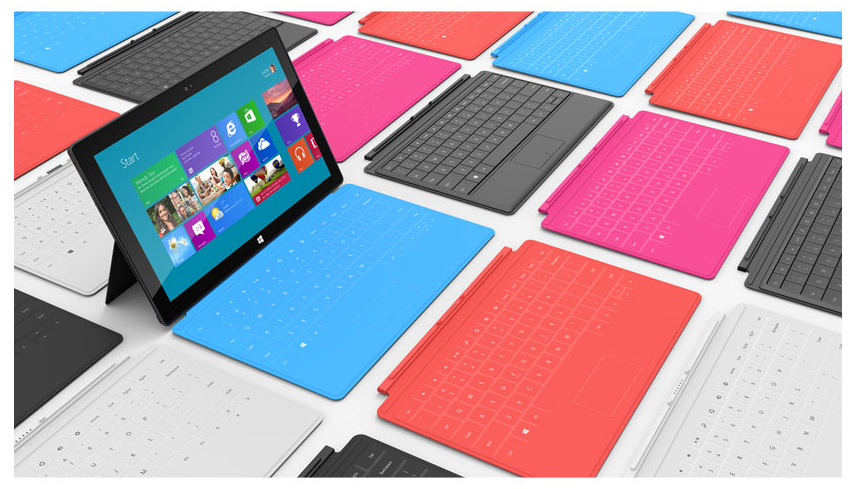Microsoft a démocratisé la tablette2-en-1