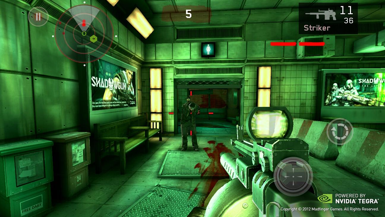 Dead Trigger , c?est un jeu de tir à la première personne. Le