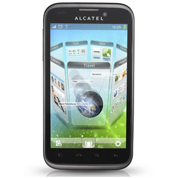 Test de l'Alcatel One Touch 995 Ultra