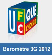 ufc barometre 3g 2012