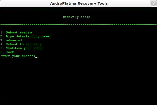 andoplatina recovery