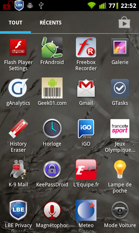 holo launcher app drawer