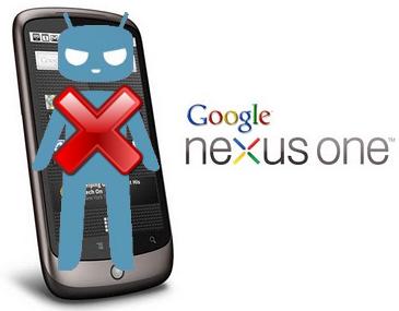 nexus one pas cyanogen10