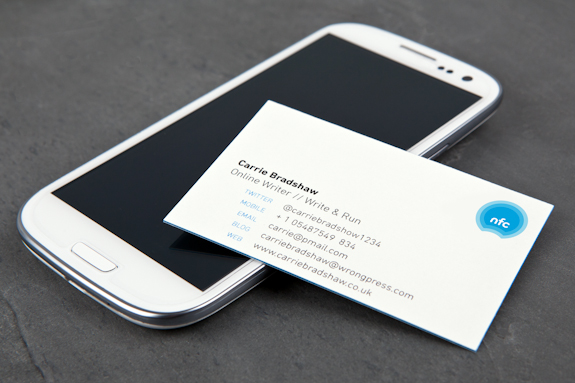 MOO Experimente La Carte De Visite NFC