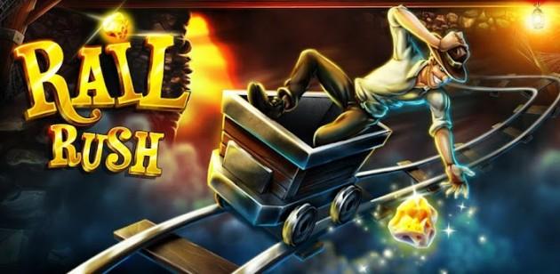 Rail Rush est un jeu édité et adapté par Miniclip sur Android.