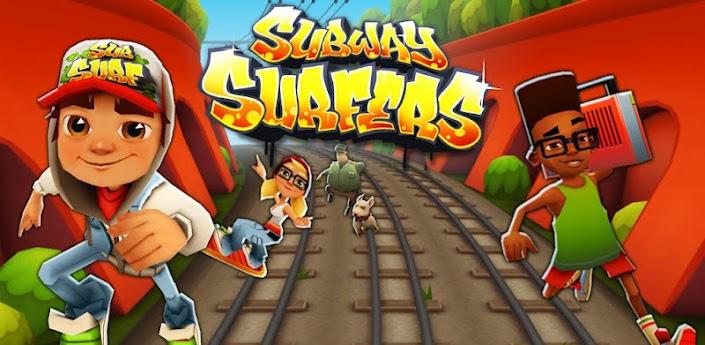 Subway Surfers est édité et adapté par Kiloo sur Android.