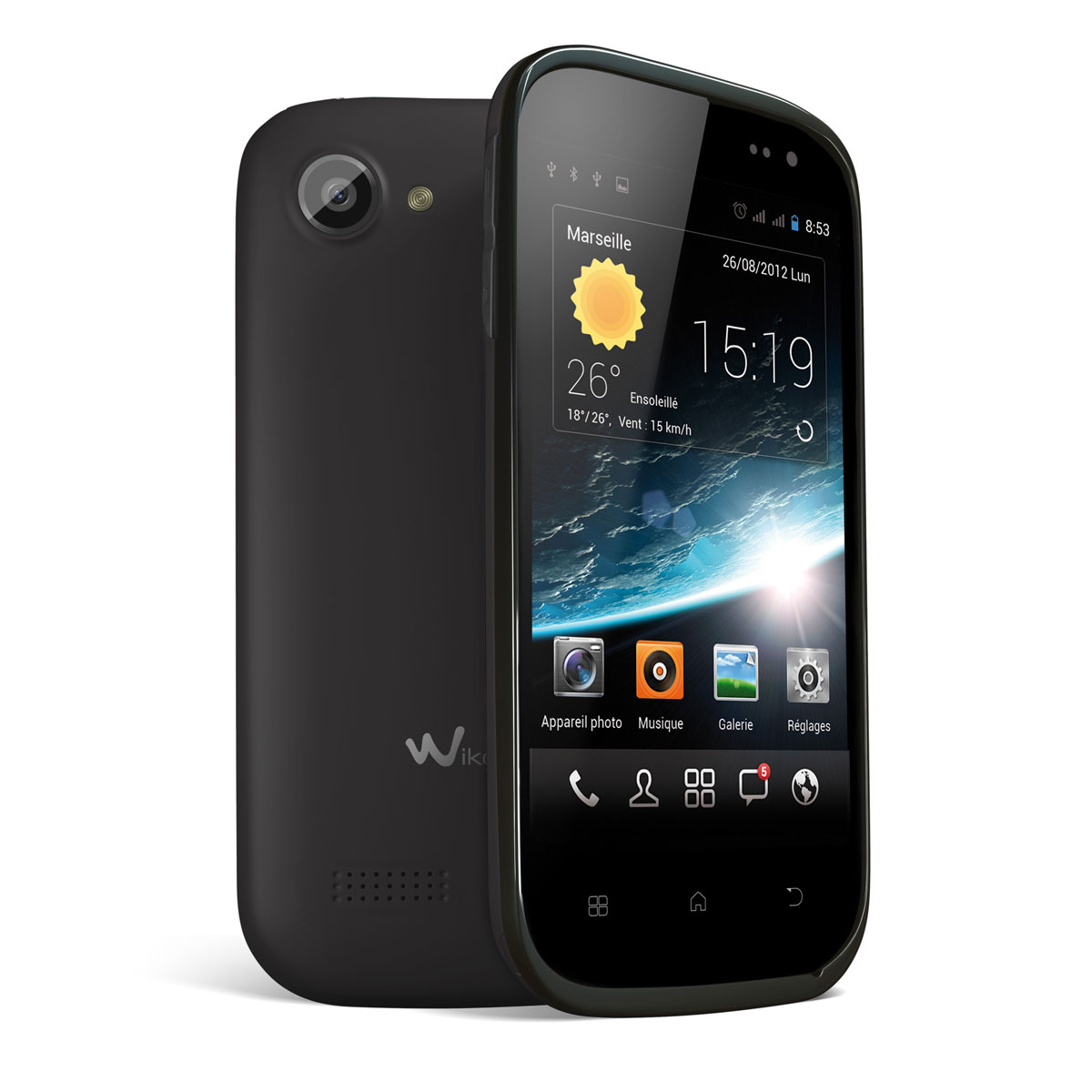 wiko cink slim un smartphone de 4 pouces dual core sim et 8 pictures. Black Bedroom Furniture Sets. Home Design Ideas