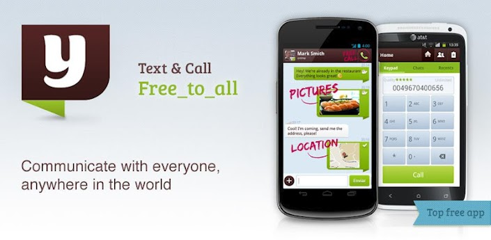 yuilop une application pour appeler et envoyer des sms. Black Bedroom Furniture Sets. Home Design Ideas