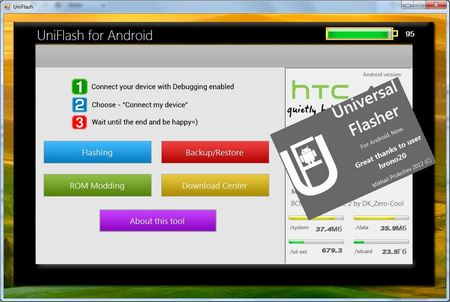 uniflash for android
