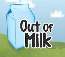 out of milk liste de courses
