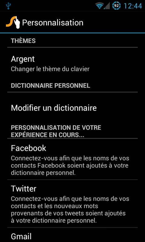swype-personnalisation