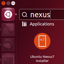 Installer Ubuntu Nexus 7